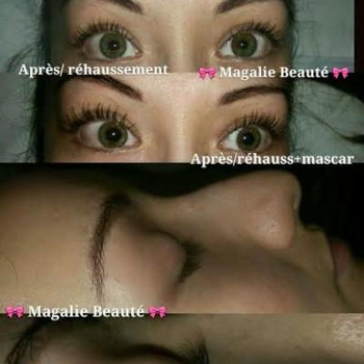 rehaussement de cils/ mascara permanent/ maquillage